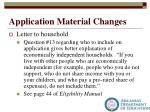 application material changes1