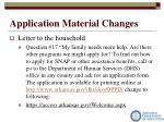 application material changes2