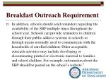 breakfast outreach requirement1