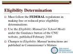 eligibility determination1