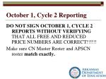 october 1 cycle 2 reporting2