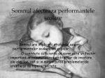 somnul afecteaza performantele scolare