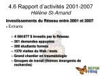 4 6 rapport d activit s 2001 2007 h l ne st amand