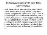 pembiayaan konsumtif dari bank konvensional