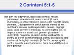 2 corinteni 5 1 5