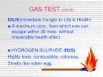 gas test contd6