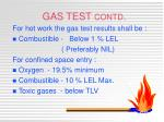 gas test contd7
