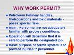 why work permit