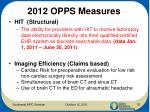 2012 opps measures1