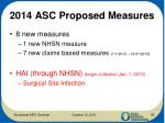 2014 asc proposed measures