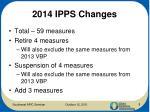 2014 ipps changes