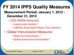 fy 2014 ipps quality measures