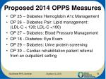 proposed 2014 opps measures