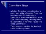 committee stage1