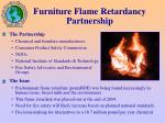furniture flame retardancy partnership