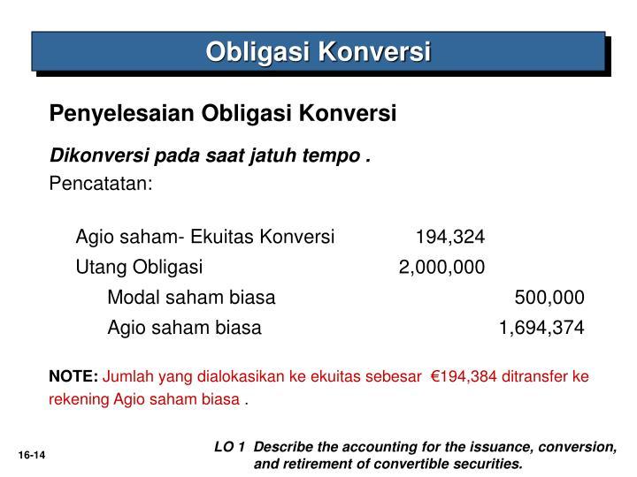 Obligasi Konversi