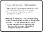 prinsip manajemen ketersediaan1
