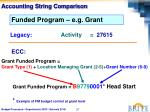 accounting string comparison2