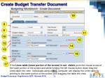 create budget transfer document3