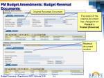 fm budget amendments budget reversal documents1