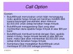 call option1