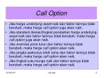 call option2