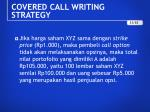 covered call writing strategy3