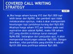 covered call writing strategy4
