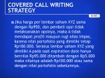 covered call writing strategy5