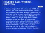 covered call writing strategy6