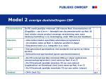 model 2 overige doelstellingen cbp1