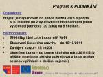 program k podnik n3