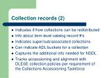 collection records 2
