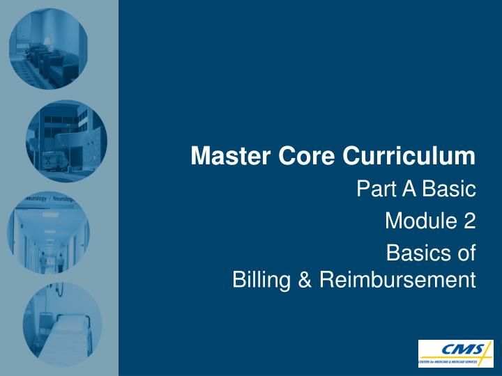 master core curriculum n.