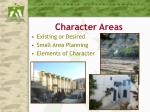 character areas