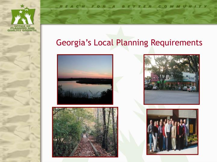 georgia s local planning requirements n.