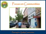 focus on communities