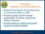 georgia s quality community objectives