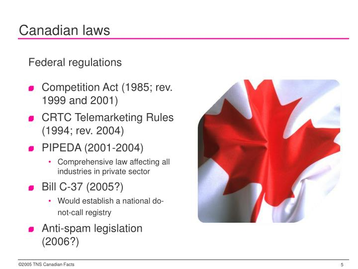 Canadian laws