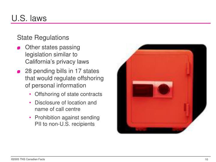 U.S. laws