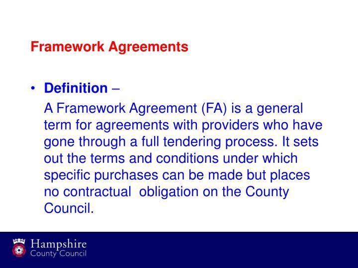 Framework Agreement Definition Image Decor And Frame