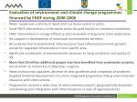 evaluation of environment and climate change programmes financed by erdf during 2000 20062