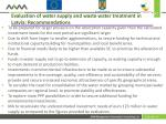 evaluation of water supply and waste water treatment in latvia recommendations