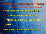 eapo members meeting cfp review1