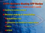 eapo members meeting cfp review3
