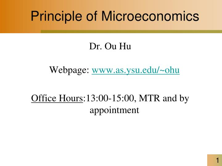 principle of microeconomics n.
