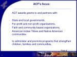 acf s focus
