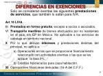 diferencias en exenciones1