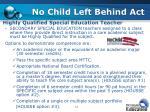 no child left behind act3