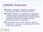 uswag overview